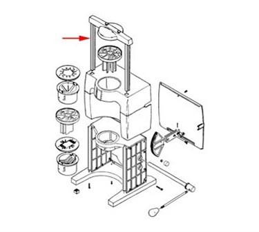 Franklin Machine Products  285-1049 Crossbar (Assy)