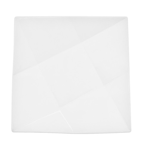 Crystal Square Plate, 9