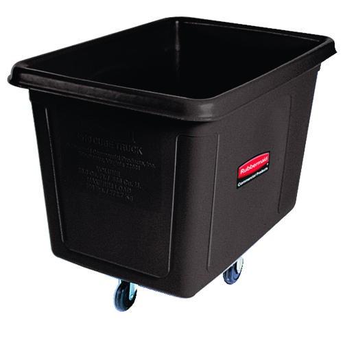 Cube Truck, 600 lb Capacity, 20 Cubic ft, Black
