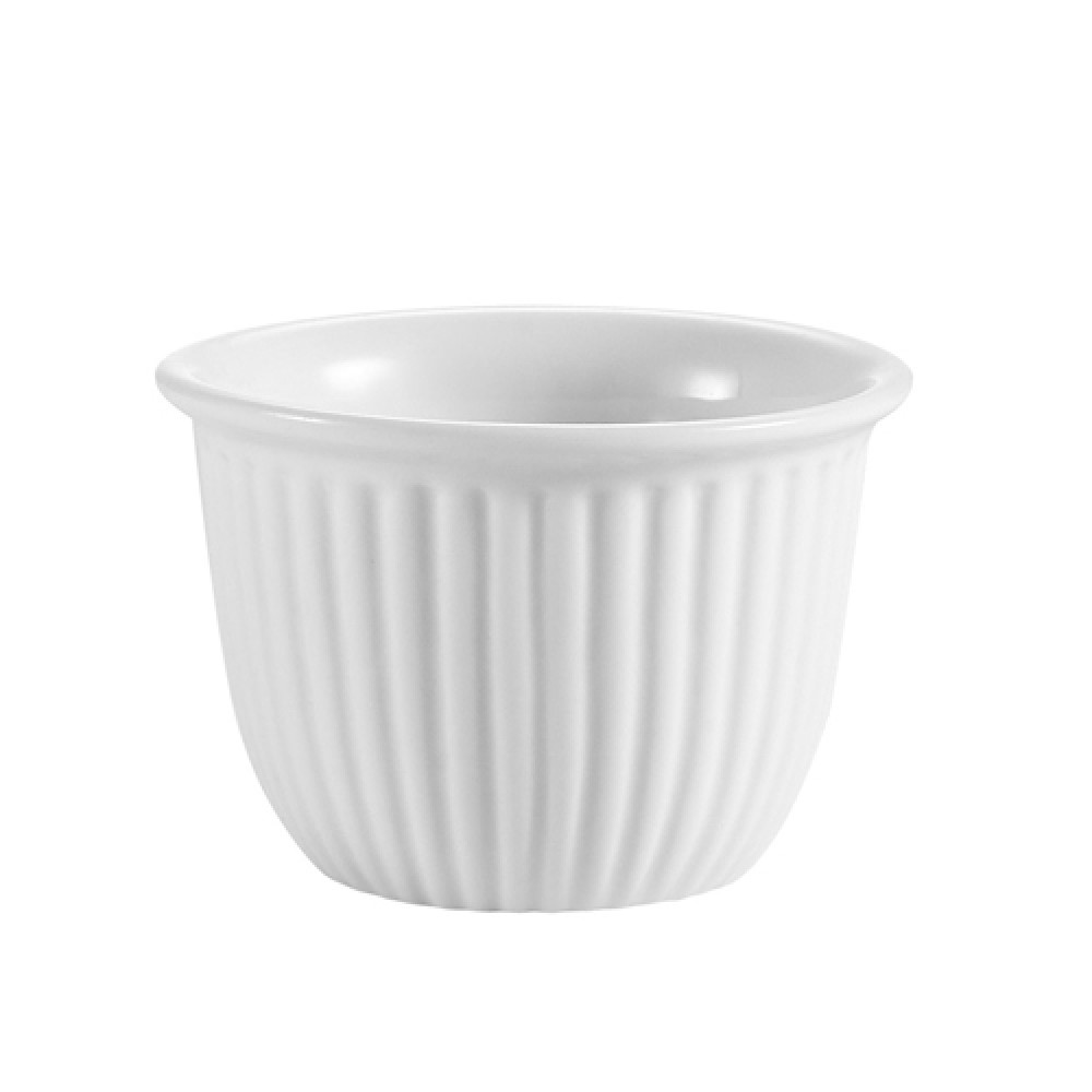 CAC China CST-8 Accessories Fluted Custard Cup 6 oz.