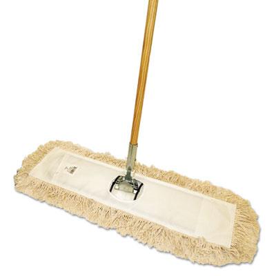Cut-End Dust Mop Kit, 24 x 5, 60