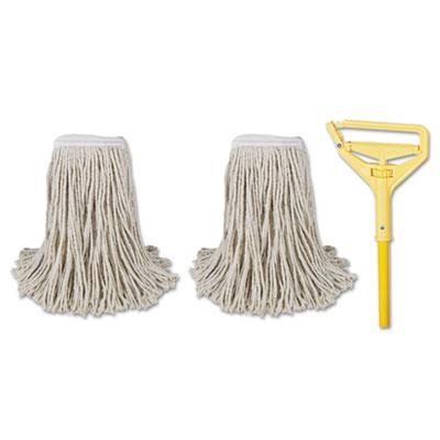 Cut-End Mop Kits, #24, Natural, 60