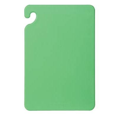 Cutting Board, 15 X 20 X 1/2, Green (Vegetable & Fruit Board)
