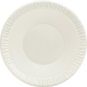 DART 10-12 Oz Quiet Classic Laminated Foam Bowl