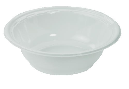 DART 5-6 Oz Rigid Plastic Bowl, China-Lock, White