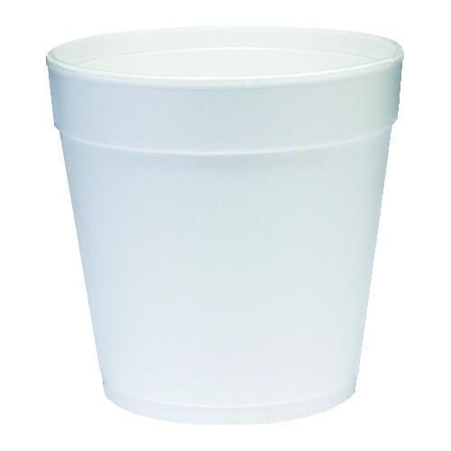 DART Cup Foam Squat 24 Oz, White