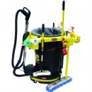 DVAC 1-Pass Cleaning Solution, Power Nozzle, DeluxeRim Caddy