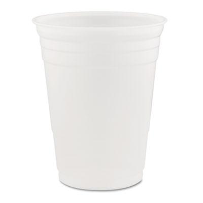 Dart Conex Translucent Plastic Cold Cups, 16 oz., 1000/Carton