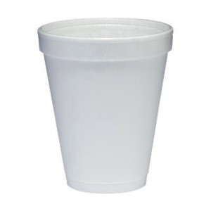 Dart Container Corporation DART White Foam Cup 10 Oz (Box of 1000)