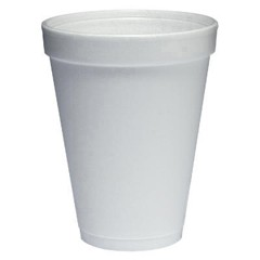 Dart Container Corporation DART White Foam Cups 12 Oz (Box of 1000)