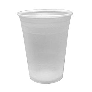 Dart Container Corporation DART 16 Oz Conex Plastic Cold Cup- Translucent (Box of 1000)