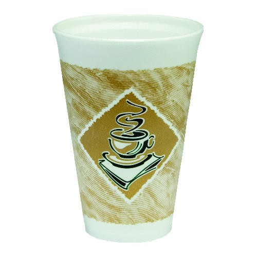 Dart Container Corporation DART Café G Foam Cup 16 Oz (Box of 1000)