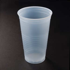 Dart Container Corporation DART 24 Oz Tall Conext Plastic Cold Cup- Translucent (Box of 1000)