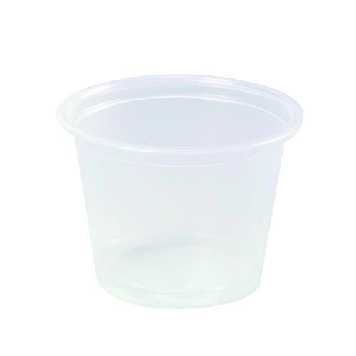 Dart Container Corporation DART Conex Plastic Portion Containers 4 Oz (Box of 2500)