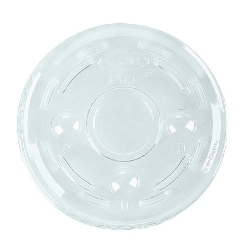Dart Container Corporation DART Conex Clear Lids for 3.25 to 5.5 Oz Containers (Box of 2500)