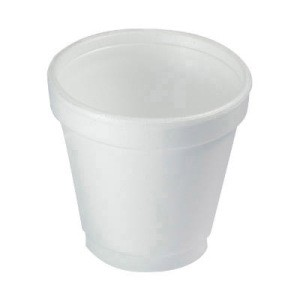 Dart Container Corporation DART Foam Cup 4 Oz - White (Box of 1000)