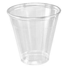 Dart Container Corporation DART 5 Oz Conex Plastic Cup- Clear (Box of 2500)
