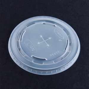 Dart Container Corporation DART Conex Cold Beverage Lid fits 12 Oz and 14 Oz- Translucent (Box of 1000)