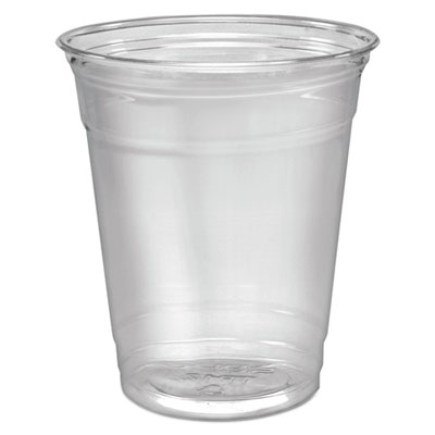 Dart Ultra Clear Cups, Squat, 12-14 oz., PET, 50/Pack