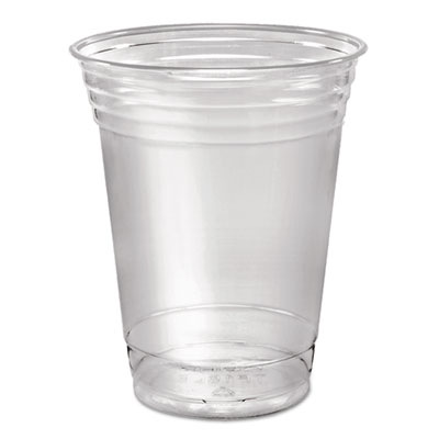 Dart Ultra Clear Cups, Squat, 16 oz., PET, 50/Pack