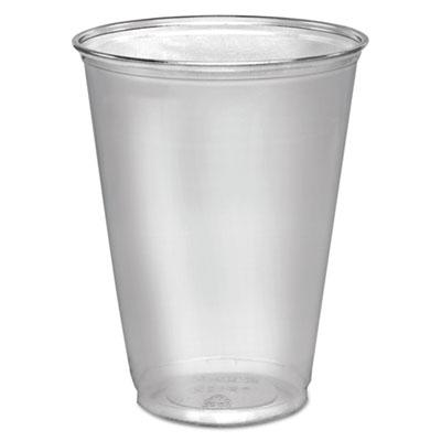 Dart Ultra Clear Cups, Tall, 10 oz., PET, 50/Pack