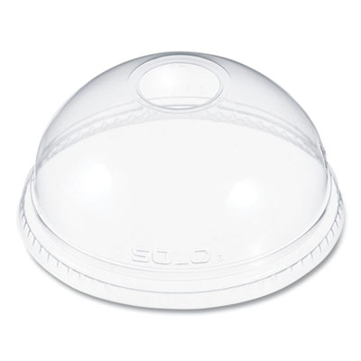 Dart Ultra Clear Dome Cold Cup Lids for 16-24 oz. Cups, PET, 100/Pack