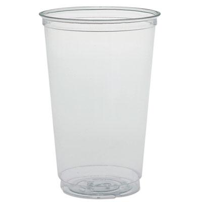 Dart Ultra Clear PETE Cold Cups, 20 oz., Clear, 1000/Carton