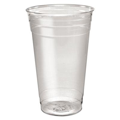 Dart Ultra Clear PETE Cold Cups, 24 oz., Clear, 600/Carton