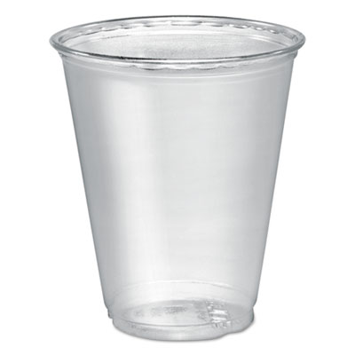 Dart Ultra Clear PETE Cold Cups, 7 oz., Clear, 50/Pack