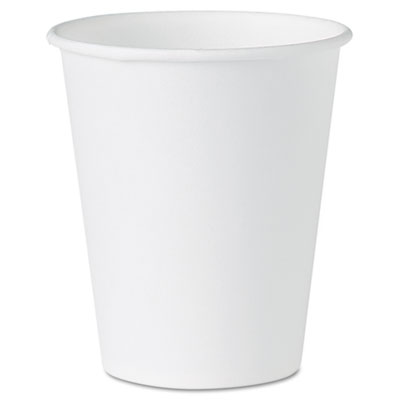Dart White Paper Water Cups, 4 oz., 100/Pack