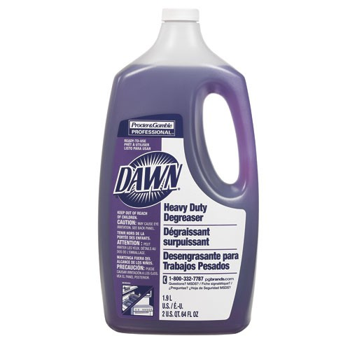 Dawn Professional Heavy-Duty Degreaser, Light Scent, 64 Oz Bottle