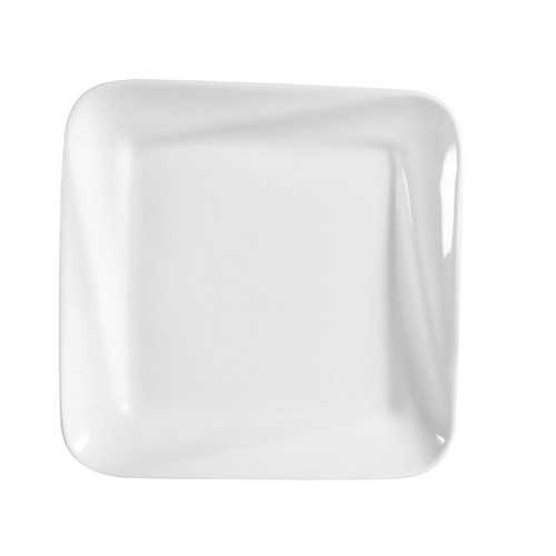 "CAC China PNS-308 Accessories Deep Square Plate 8"" x 1"""