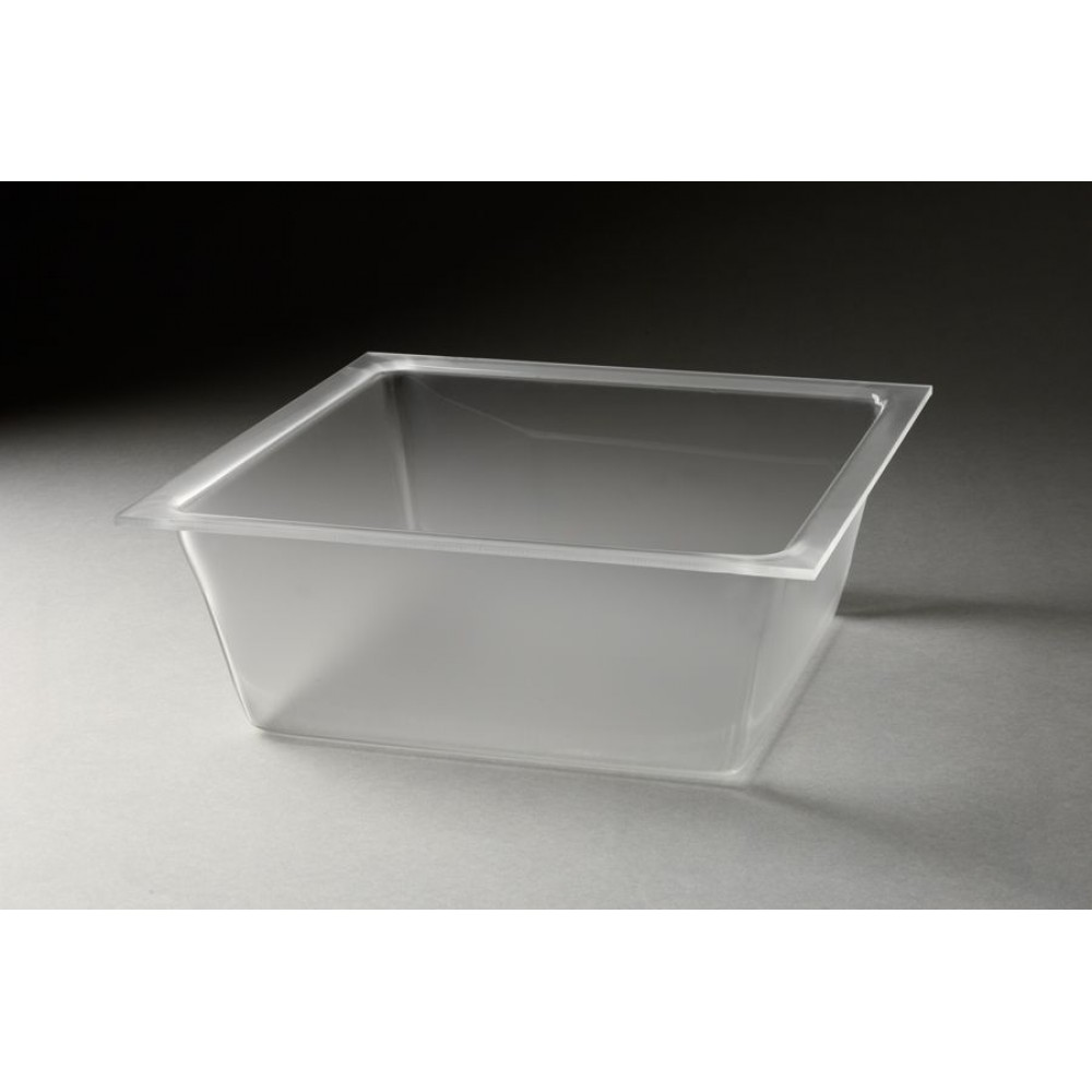 Rosseto LDT1401 10.5 Qt. Large Frosted Deep Square Tray for Mod Pod