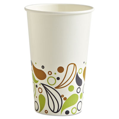 Deerfield Printed Paper Cold Cups, 16 oz., 1000/Carton