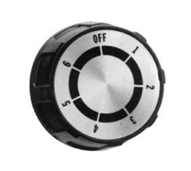 Franklin Machine Products  170-1066 Dial, Range (1-6, Flat Up )