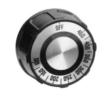 Dial, T-Stat (100-450F, Flat Dwn )