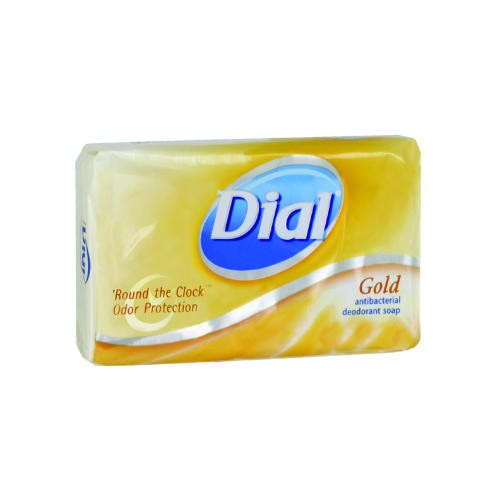 Dial Anti-bacterial Deodorant Gold Soap Bar,Individually Wrapped, 3.5oz