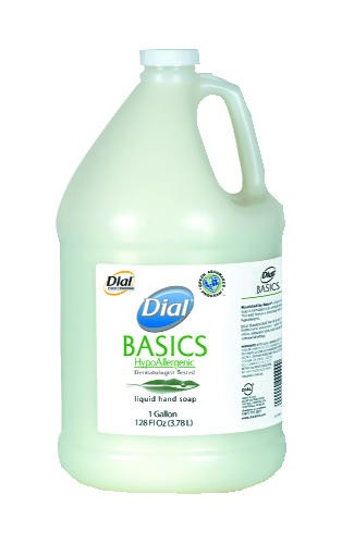 Dial Basics Liquid Soap, 1 Gallon Bottles