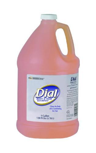 Dial Body & Hair Shampoo