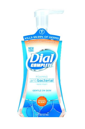 Dial Complete Antibacterial Foaming Hand Wash Pump 7.5 Oz