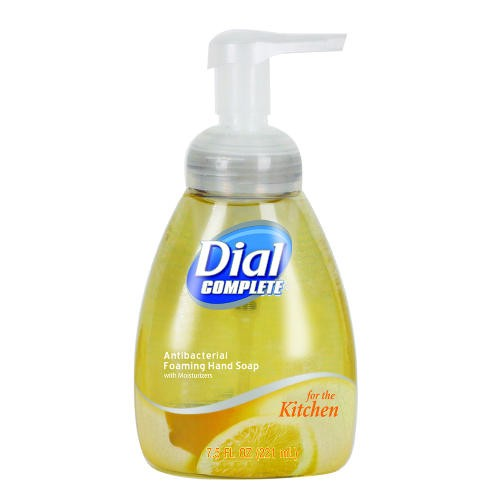 Dial Complete Antibacterial Foaming Lotion Kitchen Soap, 7.5 Oz