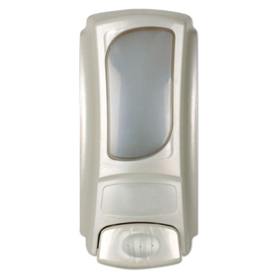 Dial Eco Smart Flex Amenity Dispenser, Pearl, 15 oz.