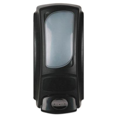 Dial Eco Smart Flex Amenity Liquid Soap Dispenser, Black 15 oz.
