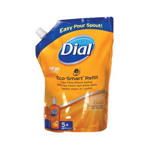 Dial Liquid Gold Hand Soap, Antibacterial, Eco-Smart, 40 Oz