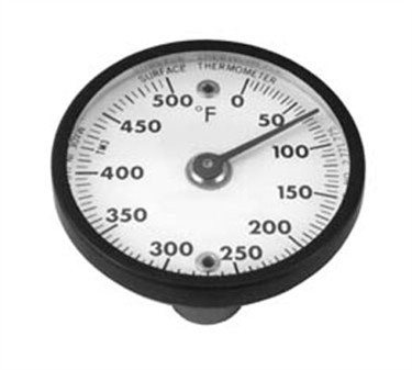 Franklin Machine Products  138-1063 Dial-Type Grill Surface Magnetic Thermometer 0° F To 500° F