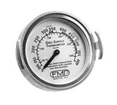 Franklin Machine Products  138-1062 Dial-Type Grill Surface Thermometer 100° F To 600° F