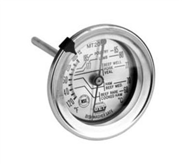 Franklin Machine Products  138-1065 Dial-Type Meat Thermometer 120F To 200F