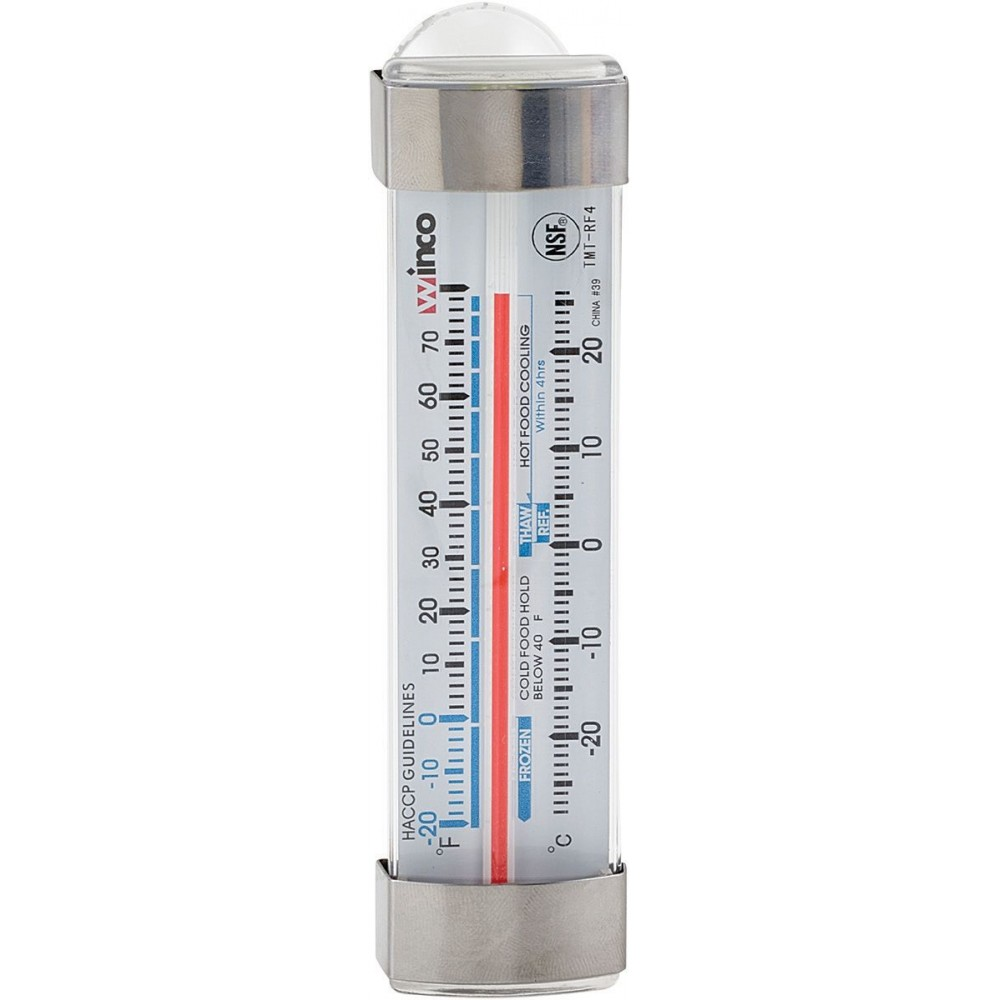 Dial-Type Refrigerator/Freezer -20 To 70 F Thermometer - 4-3/4