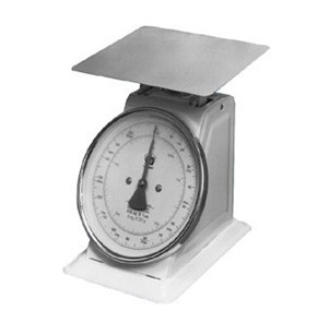 Dial-Type Top-Loading Scale - 22 Lbs. X 1 Oz. Capacity