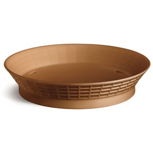 Round Plastic Diner Platter with Base, 9""
